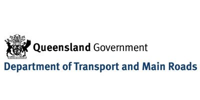 QLD Transport and main roads logo